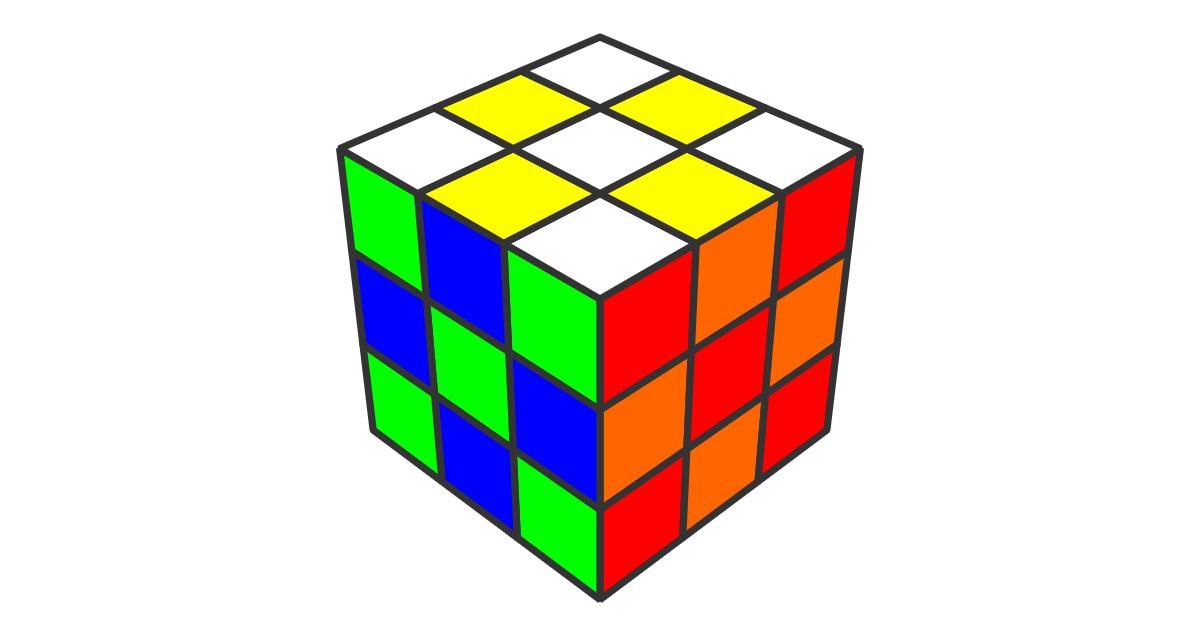 初心者向けルービックキューブ6面完成法